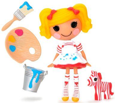 mini Lalaloopsy Spot Splatter Splash, con su mascota y accesorios