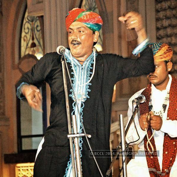 Chugge Khan of Rajasthan Josh performs at Kingdom Of Dreams, in Gurgaon.