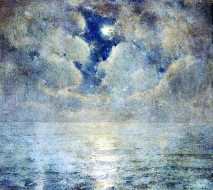 Emil Carlsen - Moonlight Scene