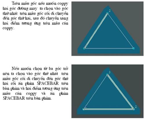 Chức Năng Các Lệnh Menu F4 Trong Lectra Modaris 7