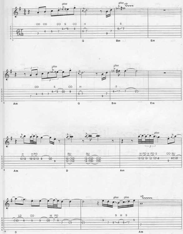 Carlos Santana Samba Pa Ti Tab 2