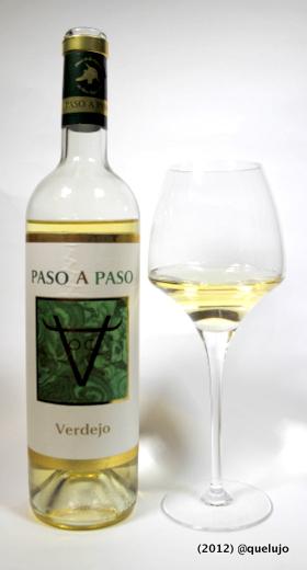 Vino blanco Paso a Paso 2010, Bodegas Volver. Selección Jorge Ordóñez &Co (Denominación de Origen La Mancha).