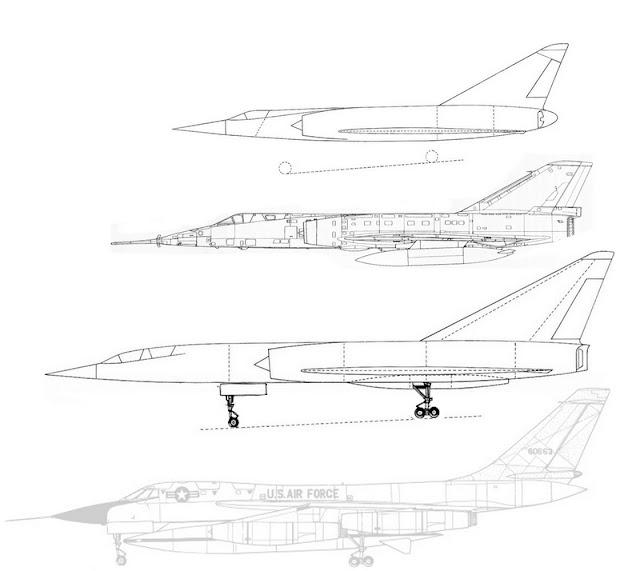 """Permis Super-lourd: Le """"gros"""" Mirage IV -scratch- 1/72 Ensemble2b"""
