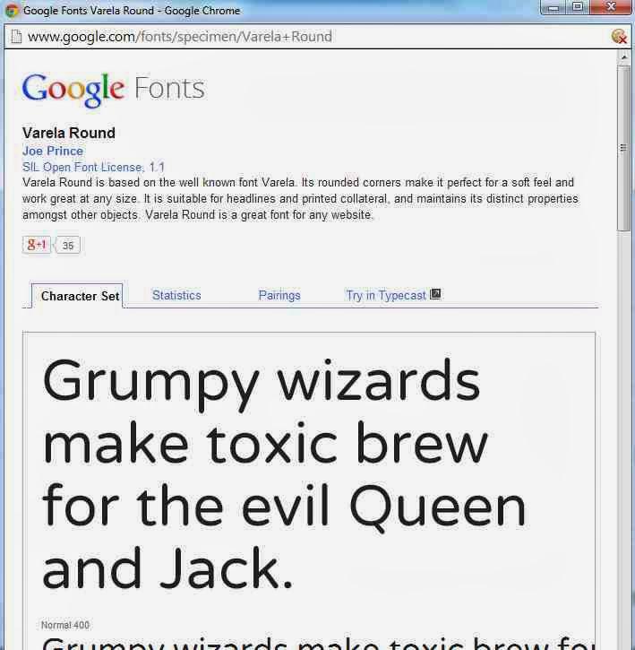 google-fonts-typecast