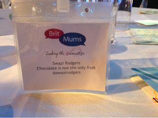 name badge from Britmums live