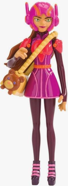 """Các khớp nối linh hoạt tạo nên mô hình Honey Lemon biệt đội Big Hero 6 loại 4"""" hoàn hảo"""
