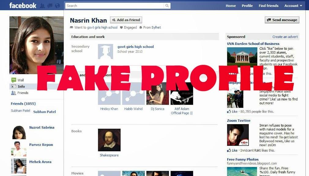 Beware of Fake Facebook Account Making and running of Facebook