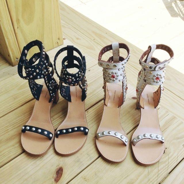 becf2de76f91 Trending  Isabel Marant Carol Studded Leather Sandals