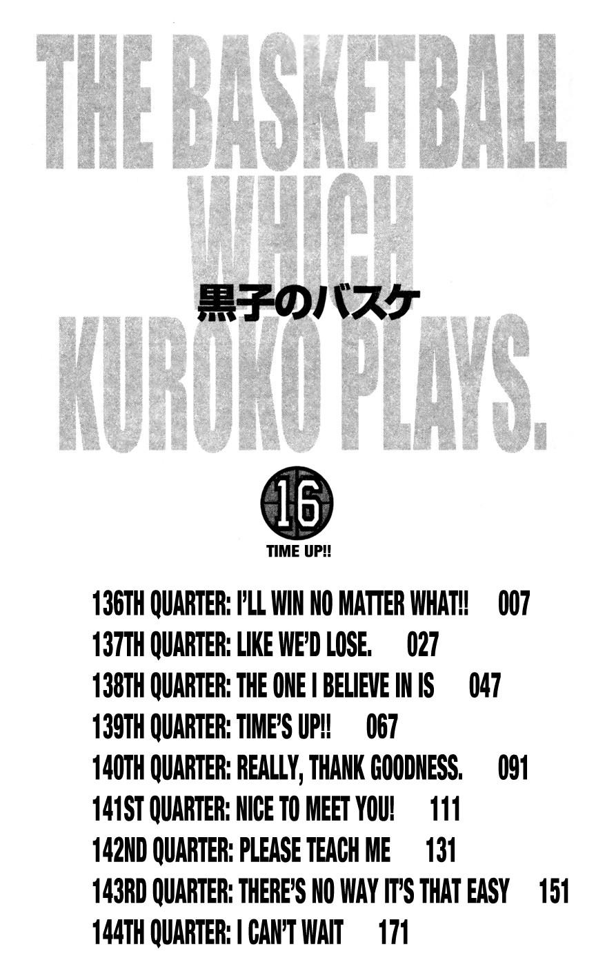 Kuroko no Basket Manga Chapter 136 - Image 06