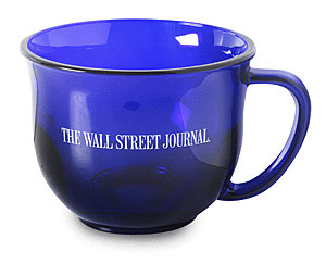 Wall street journal logo mug