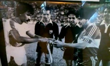 Mokhtar Dahari Supermokh and Diego Armando Maradona