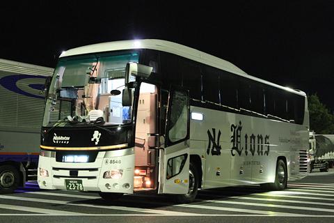西鉄高速バス「Lions Express」 8546 下松SAにて