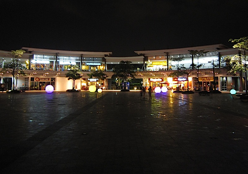 restaurants and retail stores at the UP-AyalaLand TechnoHub
