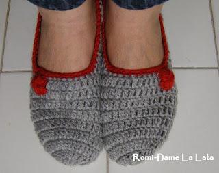 Related to Pantuflas tejidas en crochet (tamaño estándar para adulta
