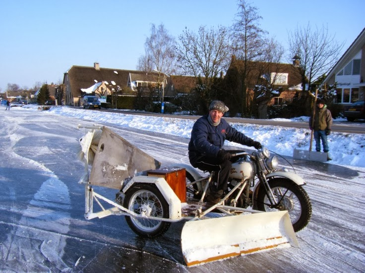 Harley Davidson Chasse Neige