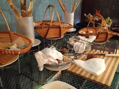 Bread at Petals Restaurant, Rose Rayhaan by Rotana