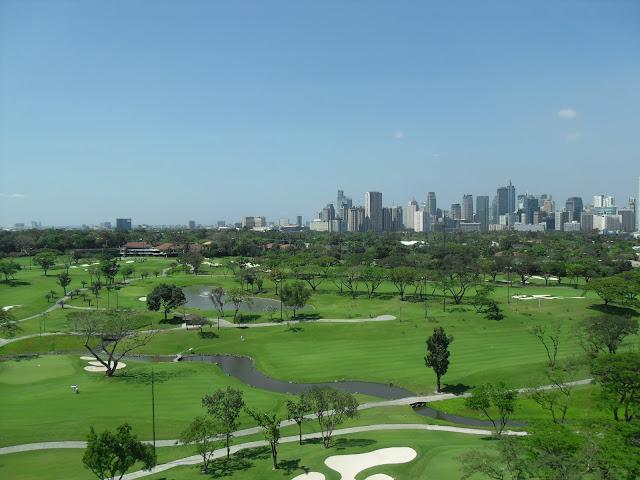 Manila Golf and Makati Skyline View