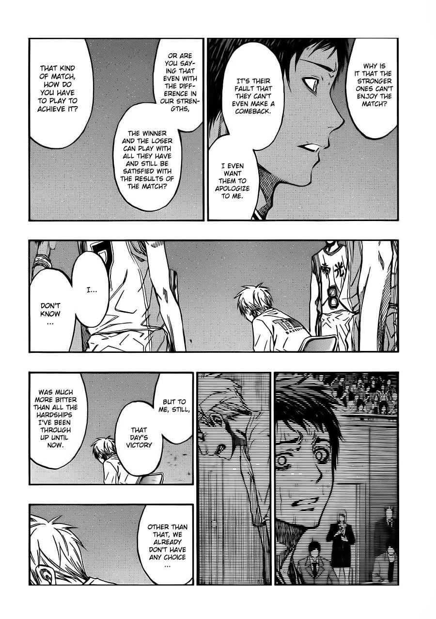 Kuroko no Basket Manga Chapter 227 - Image 04