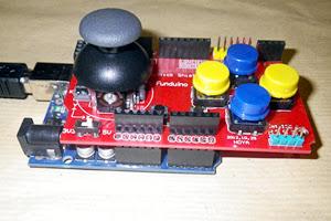 Tutoriels pour Arduino • Afficher le sujet - Shield Joystick
