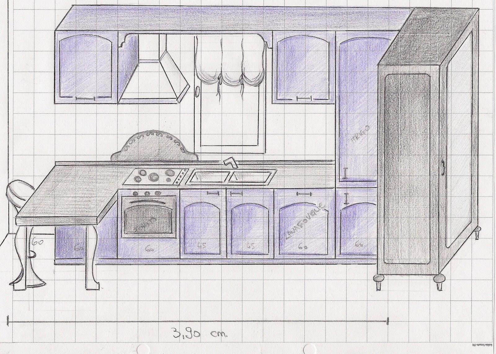 Disegnare la cucina cheap mano sar possibile realizzare - Programmi per disegnare una cucina gratis ...