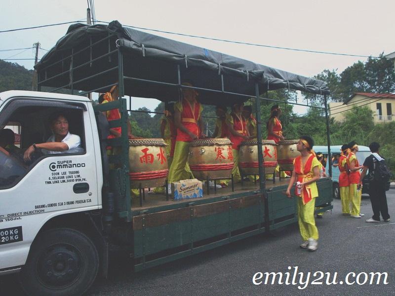 Huat Tian Keong Temple Deity Street Procession