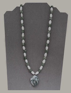 """Inner Peace - Ching Hai and White Jade - for peace, confidence harmony & dreams  22""""   $48"""
