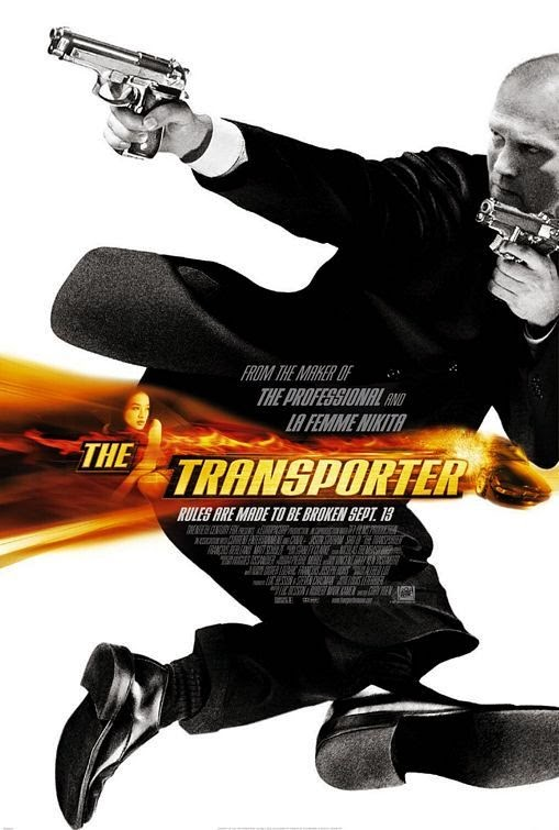Poster Of The Transporter (2002) Full Movie Hindi Dubbed Free Download Watch Online At Alldownloads4u.Com