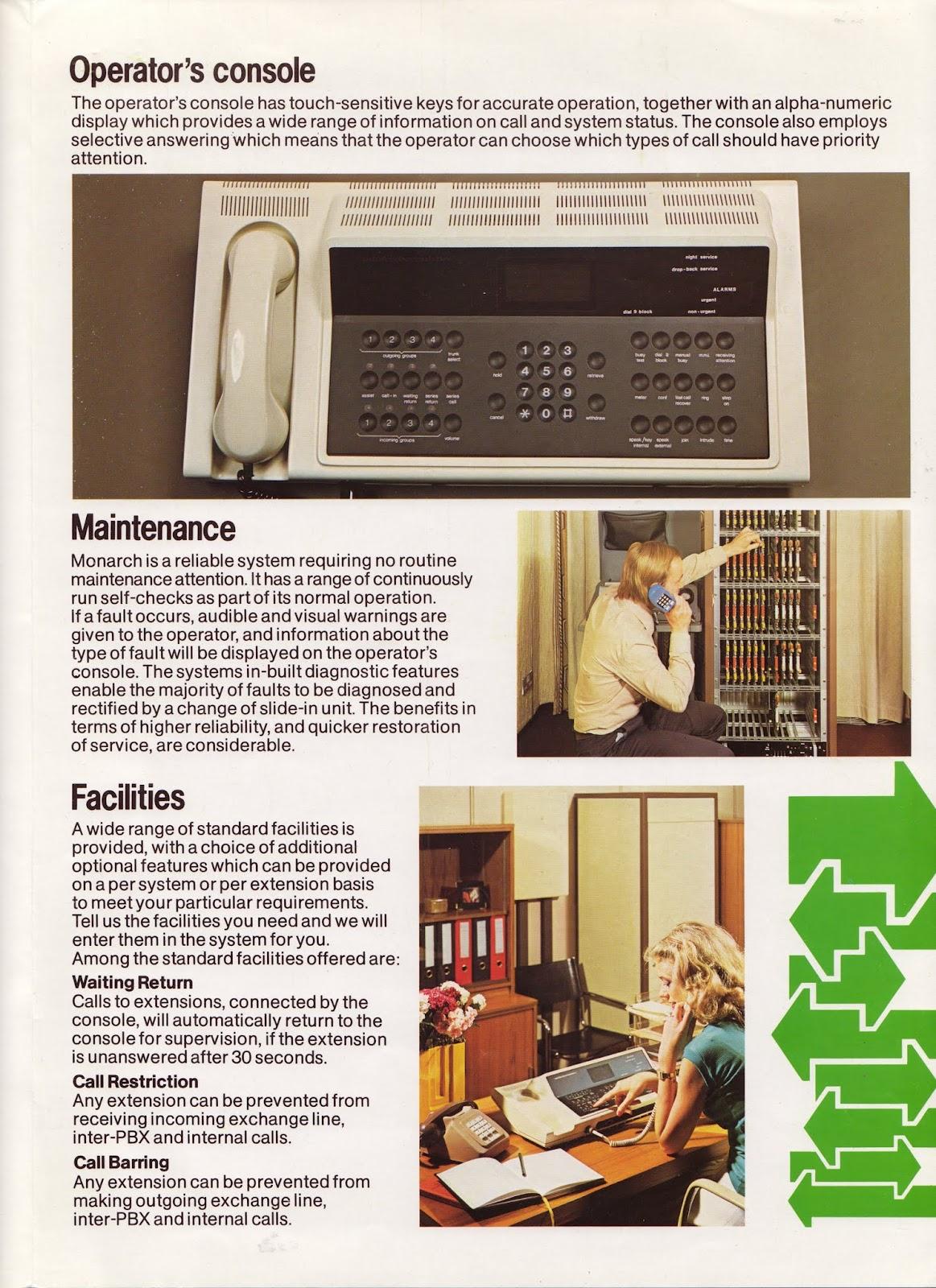 operators console