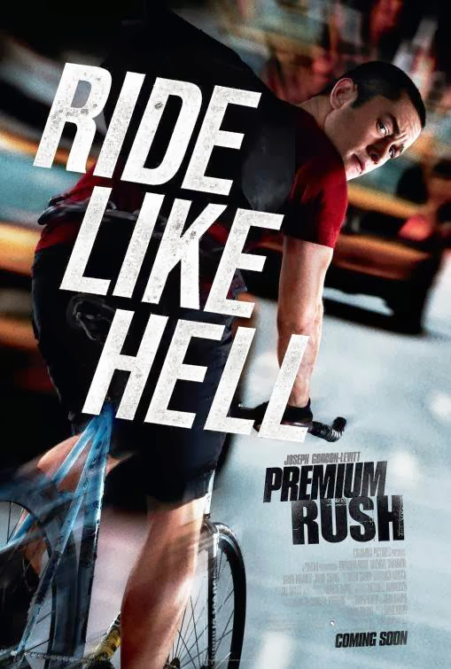 Poster Of Premium Rush (2012) Full Movie Hindi Dubbed Free Download Watch Online At alldownloads4u.com