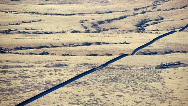 Border Between Maxico and USA
