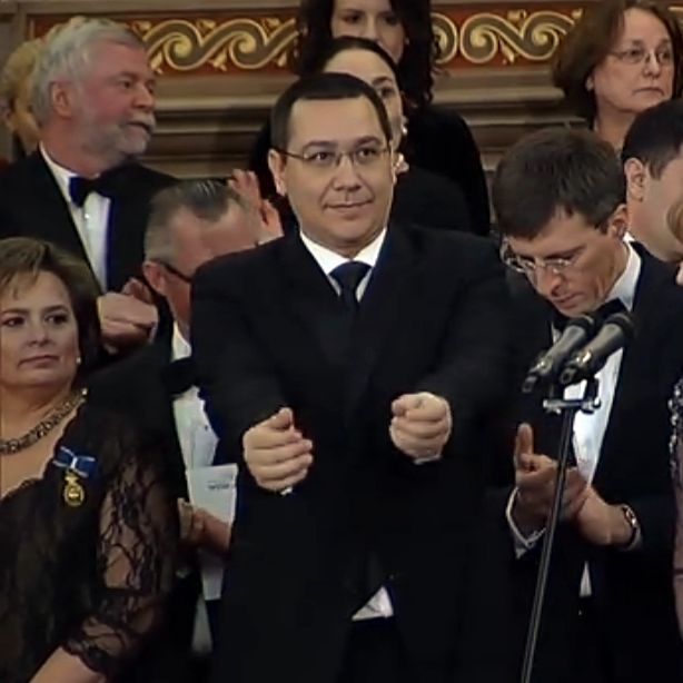 Victor Ponta la puşcărie