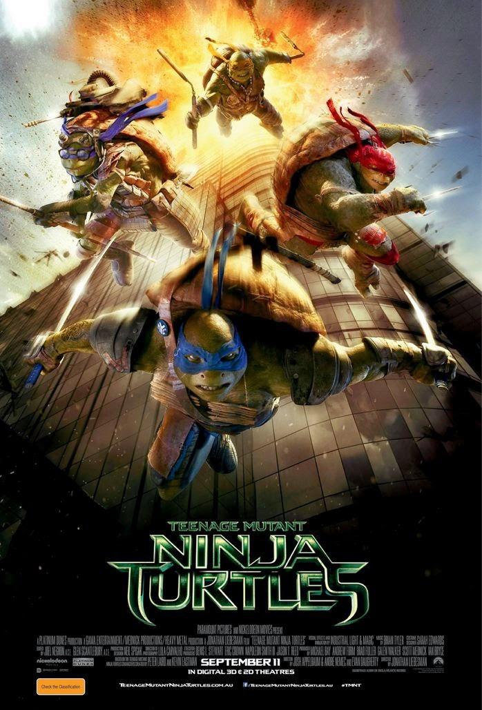 Τα Χελωνονιντζάκια (Teenage Mutant Ninja Turtles) Poster