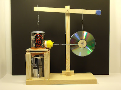 Walking Beam Pop Can Stirling Engine