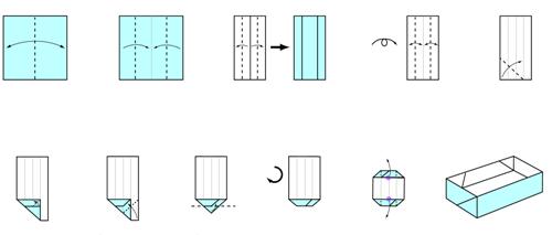 Pin by Savannah Hyde on good idea | Printable origami instructions ... | 213x500