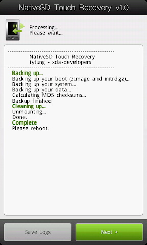 [TUTO] Utiliser le NativeSd Touch recovery 1.0 (en images) NativeSD_Touch_Recovery_1-5_Advanced_Backup