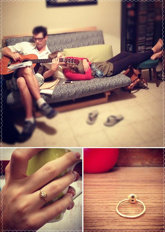 Engagment gold ring Обручальное кольцо
