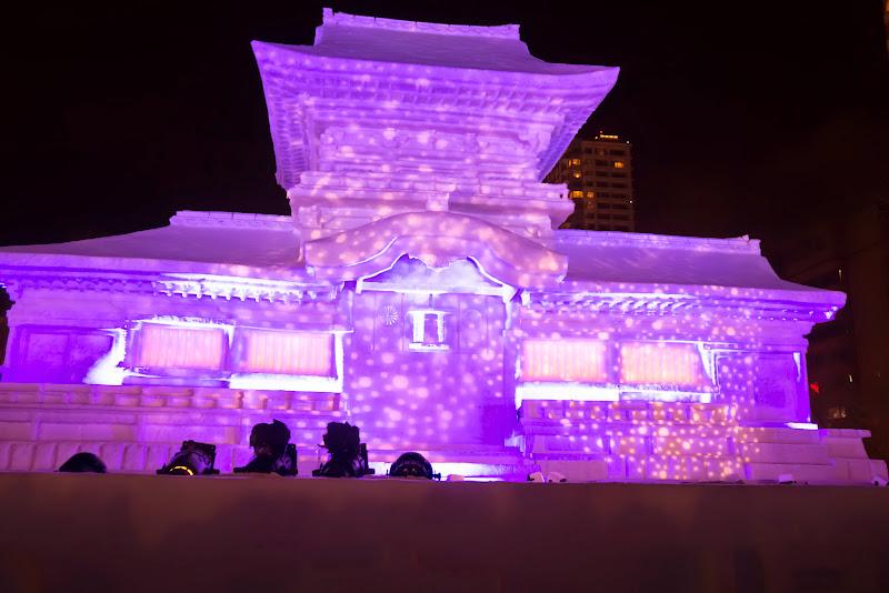 さっぽろ雪まつり 春日大社ライトアップ 写真2