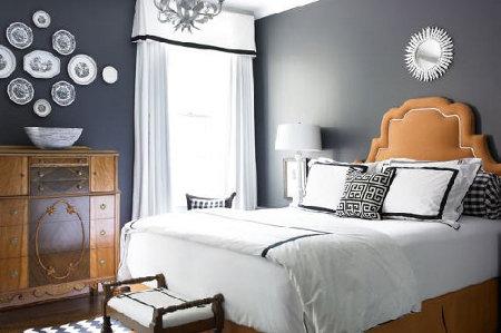 Combinaciones con gris for Paredes pintadas de gris