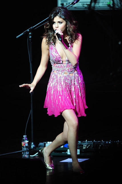 Selena Gomez - 2011 Concert Of Hope at Gibson Amphitheater