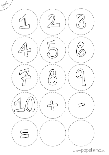 Juegos Matemáticos Para Niños Con Pinzas Papelisimo