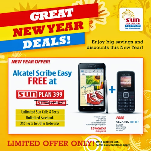 Sun cellular postpaid great new year deals pinoy tech for Sun mobile plan