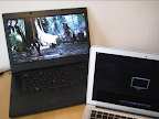 Play video on Windows PC using Aerodrom AirPlay from iTunes.
