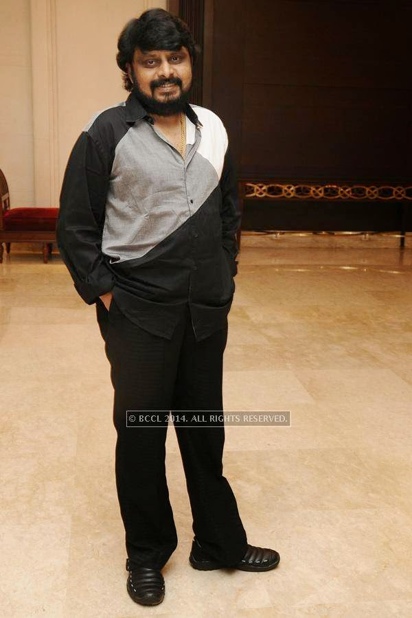 Vikraman during the birthday celebration, held at The Leela Palace, in Chennai.