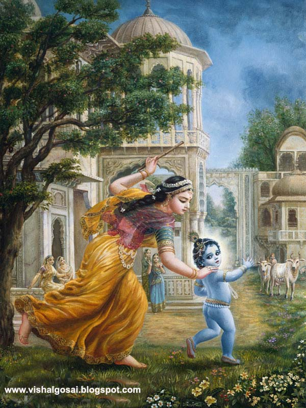 Vishal Gosai Lord Child Shri Krishna Yashoda Mata