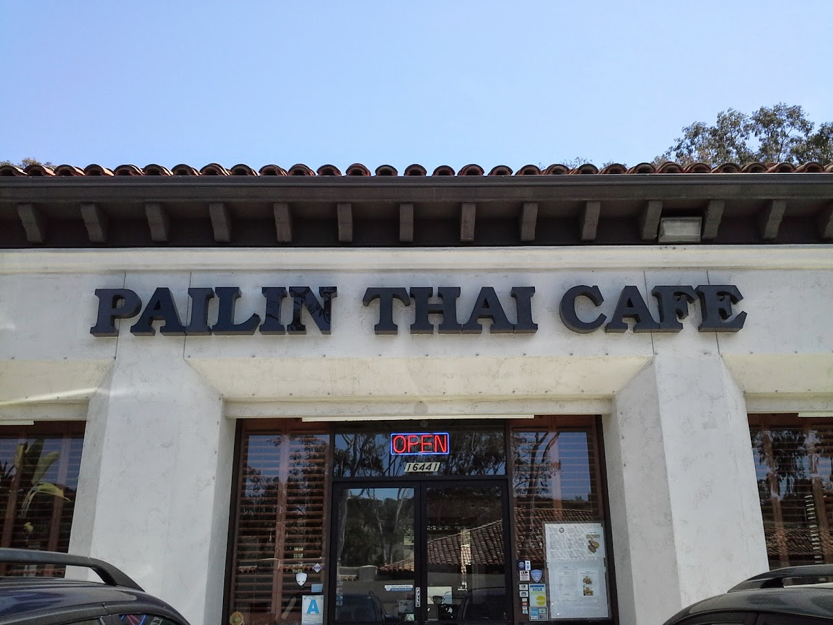 Thai Restaurant San Diego | Pailin Thai Cafe at 16441 Bernardo Center Dr, San Diego, CA