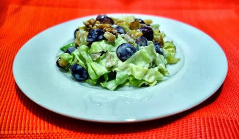 hasil olahan salad