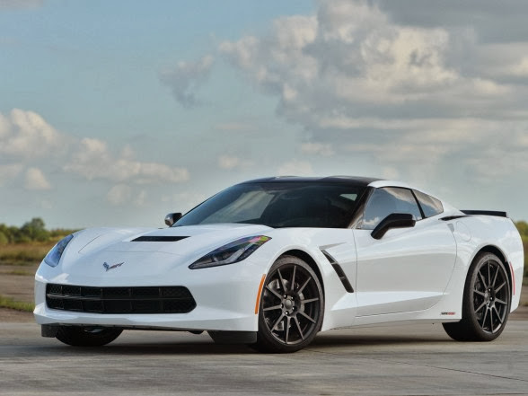 2014 Hennessey Chevrolet Corvette Stingray HPE500 - Front Side