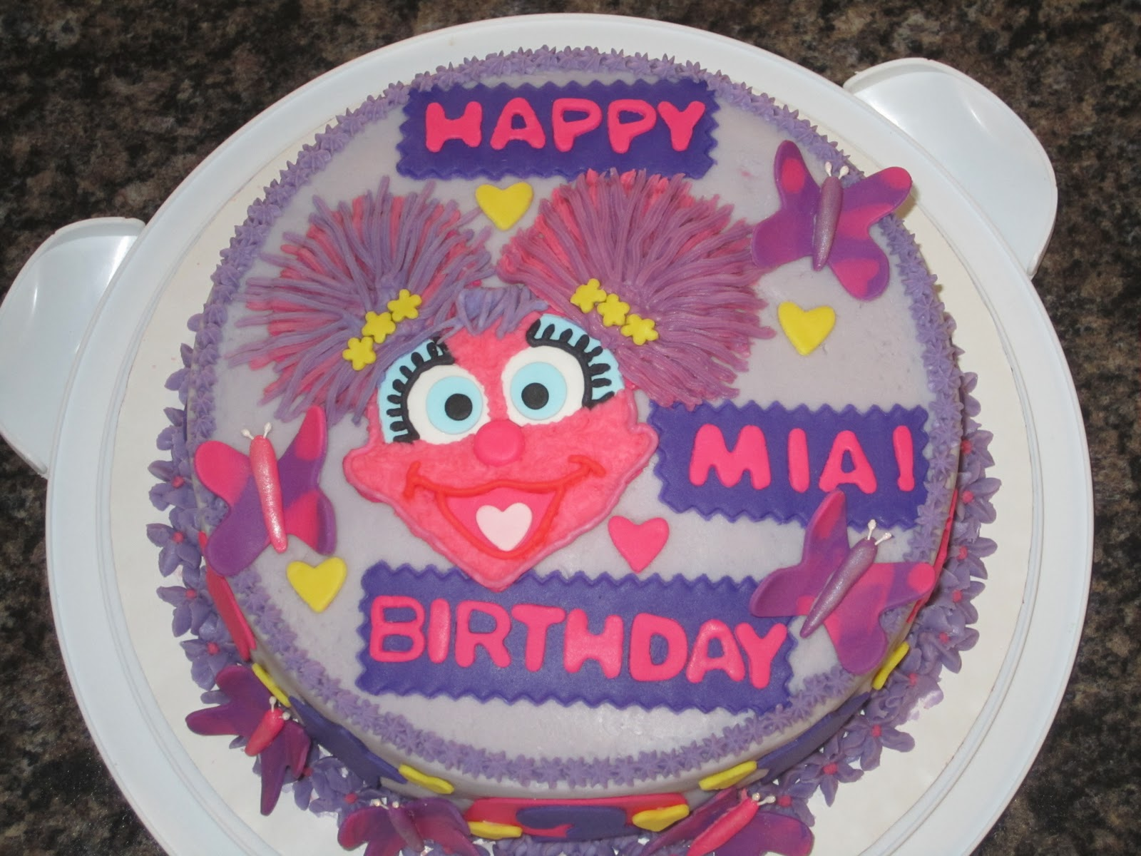 Swell My Cake Blog Abby Cadabby Birthday Cake Personalised Birthday Cards Veneteletsinfo
