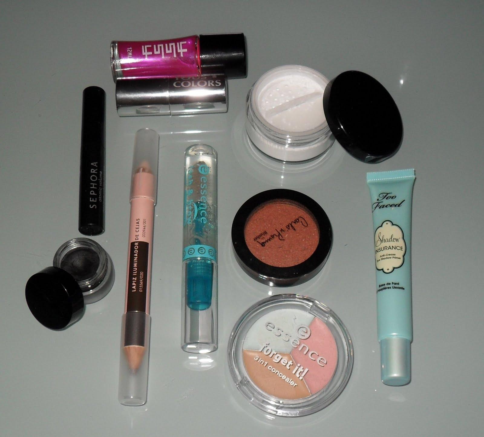 productos de maquillaje para look
