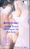 Cherish Desire Singles: Adventures with Alice (The Complete Ten Part Series), His Witch Mistress (An Alice Story), Max, erotica
